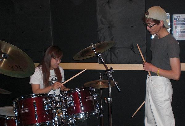 山田秀樹のドラム教室
