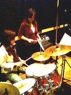 マリアのドラム教室