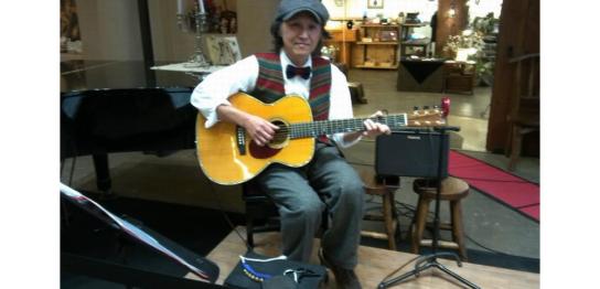 新井秀夫の「アコースティックギター教室」|音楽天国|静岡 清水 富士 藤枝 焼津 島田